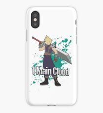 I Main Cloud - Super Smash Bros iPhone Case