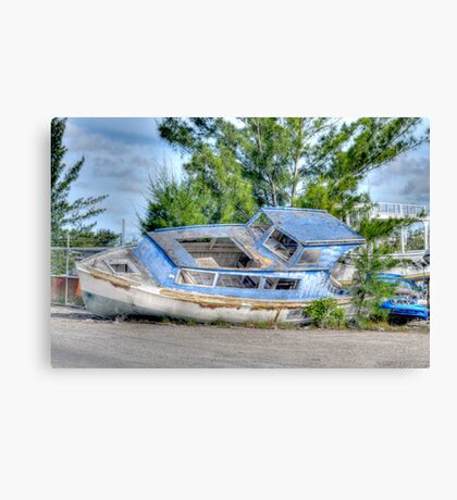 Waiting for the next trip... Canvas Print
