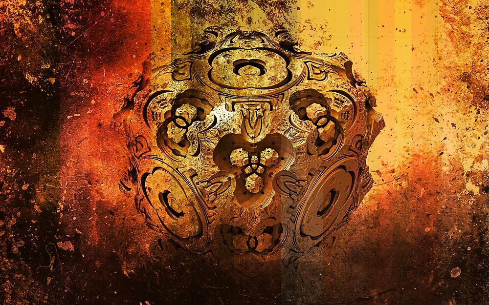 Old fractal by glaktor