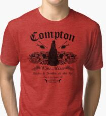 The Compton Wine Mixer Tri-blend T-Shirt