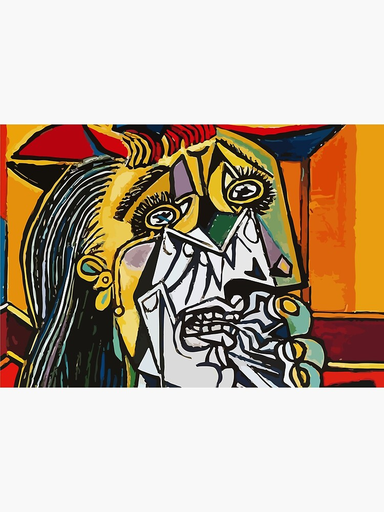 Pablo Picasso Crying Woman 1937 Artwork by clothorama