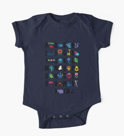 Alphabet Cute  Kids Clothes