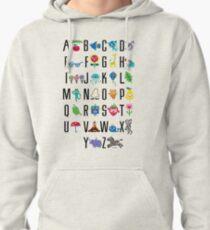 Alphabet Cute  Pullover Hoodie