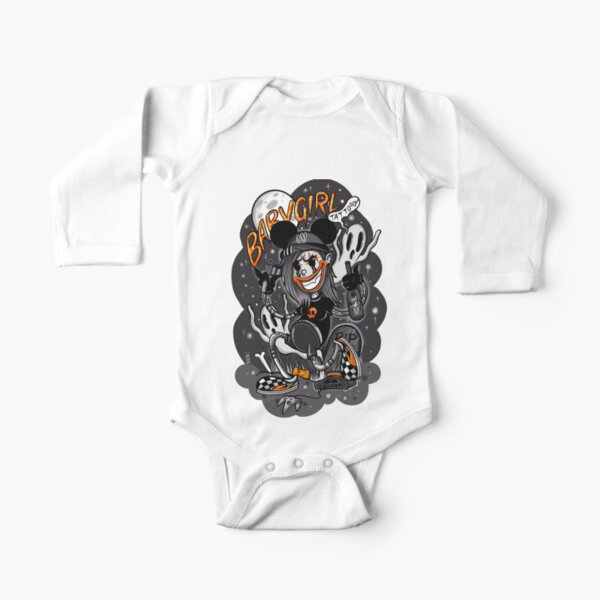Babygirl Tattoo Standard Long Sleeve Baby One-Piece