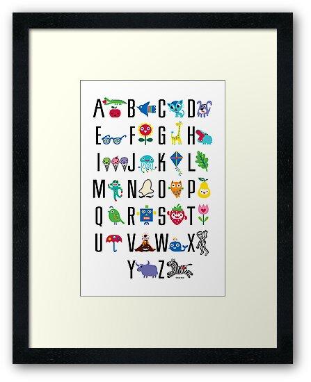 Alphabet Cute  by Andi Bird