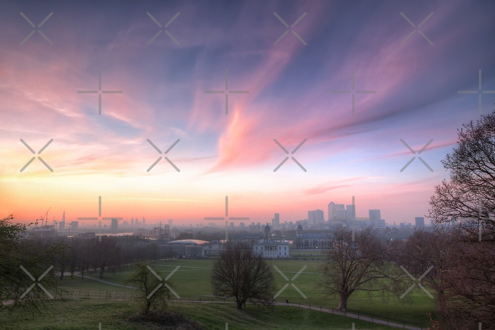 The Lavendar Skies of London by Conor MacNeill
