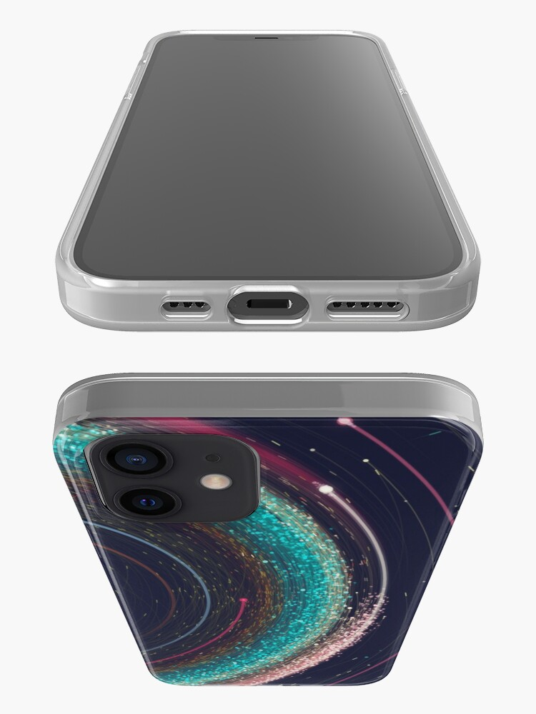 Alternate view of Asteroid Map of the Solar System iPhone Case & Cover