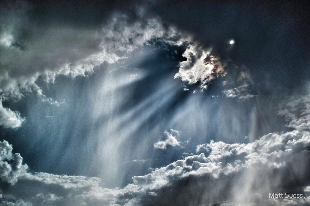 Sunlight and clouds in Santa Fe by Matt Suess