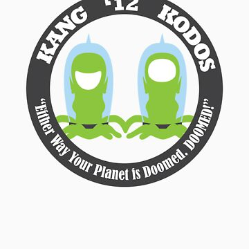 Vote Kang - Kodos '12 by fohkat