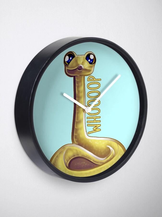 Alternate view of Whooping Snake Clock