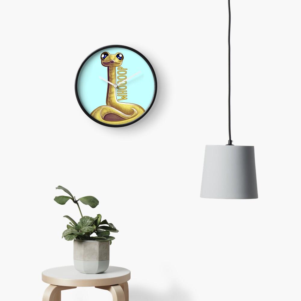 Whooping Snake Clock