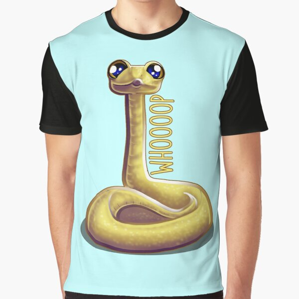 Whooping Snake Graphic T-Shirt