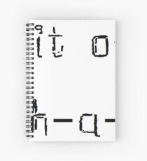 Cuaderno de espiral Miss Movin 'On letra en español
