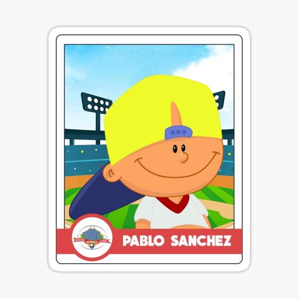 Pablo Sanchez Card Sticker