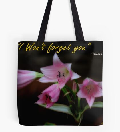 WORDS OF COMFORT Tote Bag
