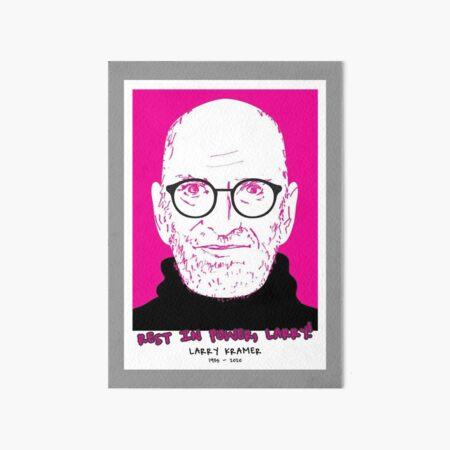 RIP LARRY KRAMER Art Board Print