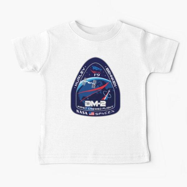 SpaceX Crew Dragon Demo-2 Mission, Nasa, Hurley, Behnken, DM-2 Baby T-Shirt