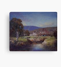 Undullah Road Canvas Print