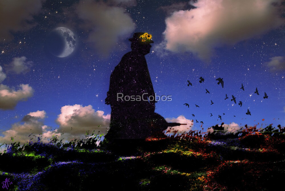 SÉRAPHINE - J.S. BACH  (Video clip with her Art and Music) by RosaCobos