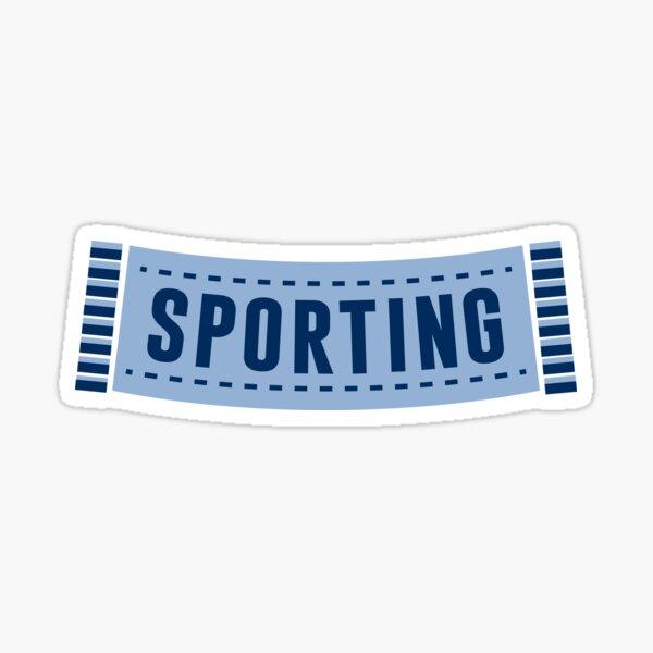 Sporting Kansas City Scarf Sticker