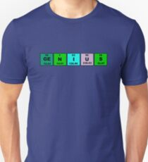 Periodic Table Genius Unisex T-Shirt