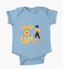 Woman Up!!!! One Piece - Short Sleeve