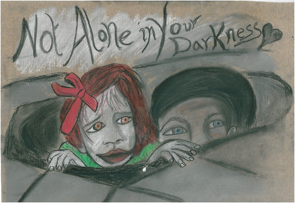 """""""Not Alone in Your Darkness"""" by LadyGrey128"""