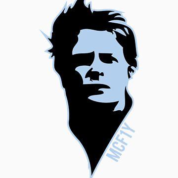 McF1y Blue Logo by McF1y