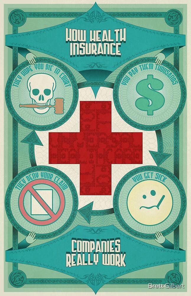 How Health Insurance Companies Really Work by Brett Gilbert