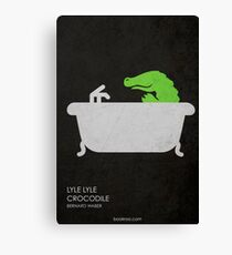 Lyle Lyle Crocodile Canvas Print