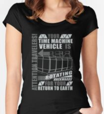 Time Travel Backwards Women's Fitted Scoop T-Shirt
