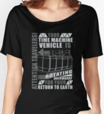 Time Travel Backwards Women's Relaxed Fit T-Shirt