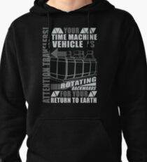 Time Travel Backwards Pullover Hoodie