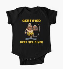 Certified Deep Sea Diver One Piece - Short Sleeve