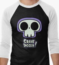 Grave Logo Men's Baseball ¾ T-Shirt