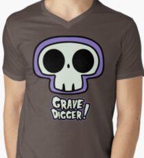 Grave Logo Men's V-Neck T-Shirt
