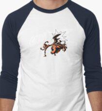 Grave - Finisher  Ver. 2 Men's Baseball ¾ T-Shirt