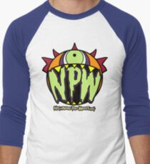 Nightmare Pro Wrestling - Logo  Men's Baseball ¾ T-Shirt