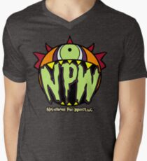 Nightmare Pro Wrestling - Logo  Mens V-Neck T-Shirt