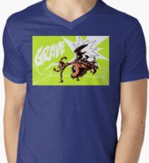 Grave - Finisher Tee Mens V-Neck T-Shirt
