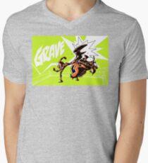 Grave - Finisher Tee Men's V-Neck T-Shirt