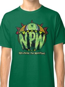 Nightmare Pro Wrestling - Vintage Tee Classic T-Shirt