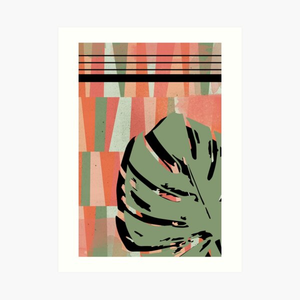 Leafy N. 1 Art Print