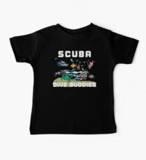 Funny SCUBA Diving Baby Tee