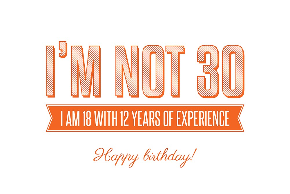 Happy 30th! by evStyle