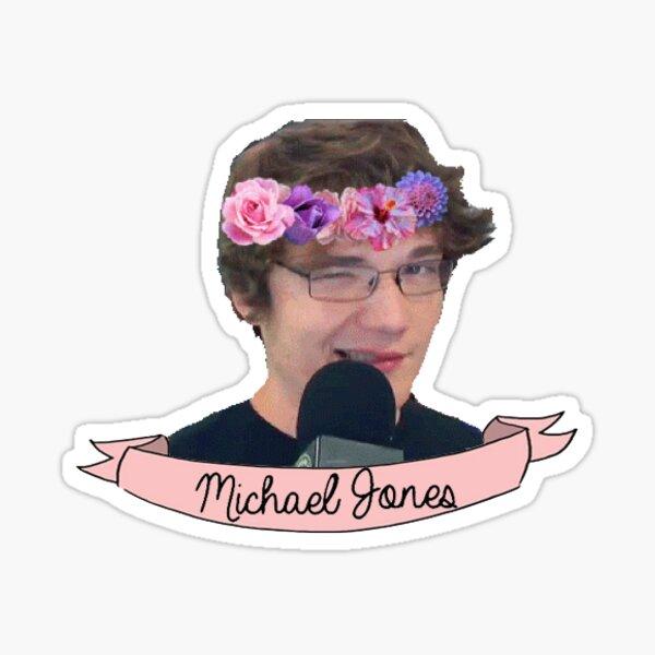 "Michael ""Rage Quit"" Jones Sticker"