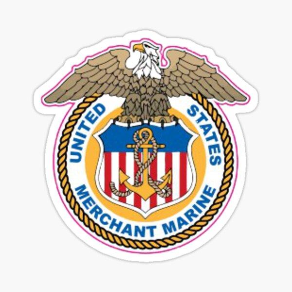 United States Merchant Marine Sticker