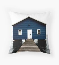 Crawley Boatshed Throw Pillow