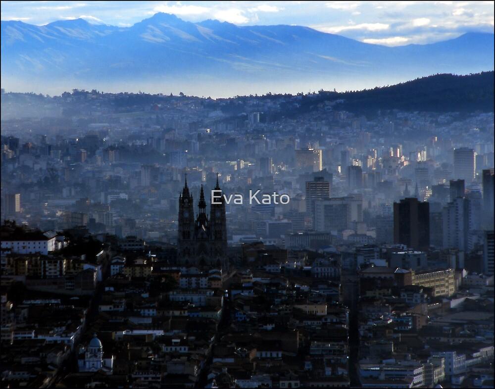 Quito from Panicello Hill by Eva Kato