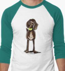 German Shorthaired Pointer Playtime Men's Baseball ¾ T-Shirt